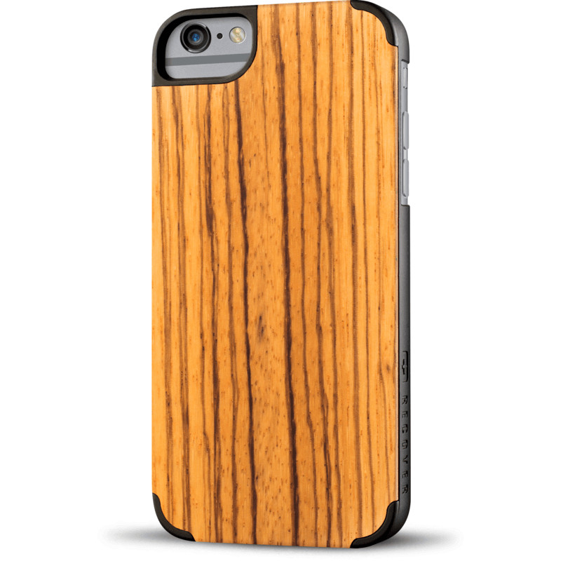 Recover Classic Wood iPhone 6 Plus Case | Zebrawood