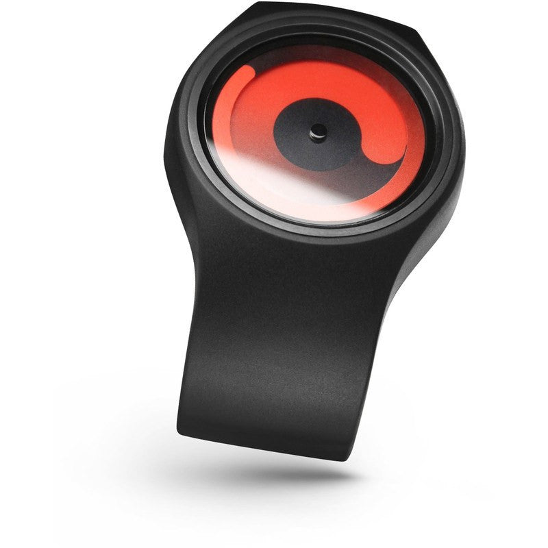ZIIIRO Gravity Black - Red Watch | Z0001WB