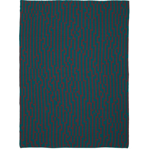 Zuzunaga Zoom In 3 Throw Blanket | MerIno Wool