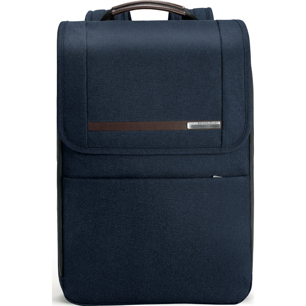 Briggs & Riley Flapover Expandable Backpack | Navy