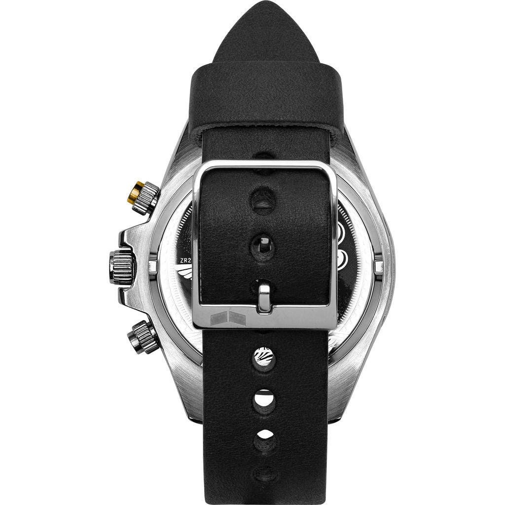 Vestal ZR-2 Makers Watch | Black-Grey/Silver/Marine-Gold