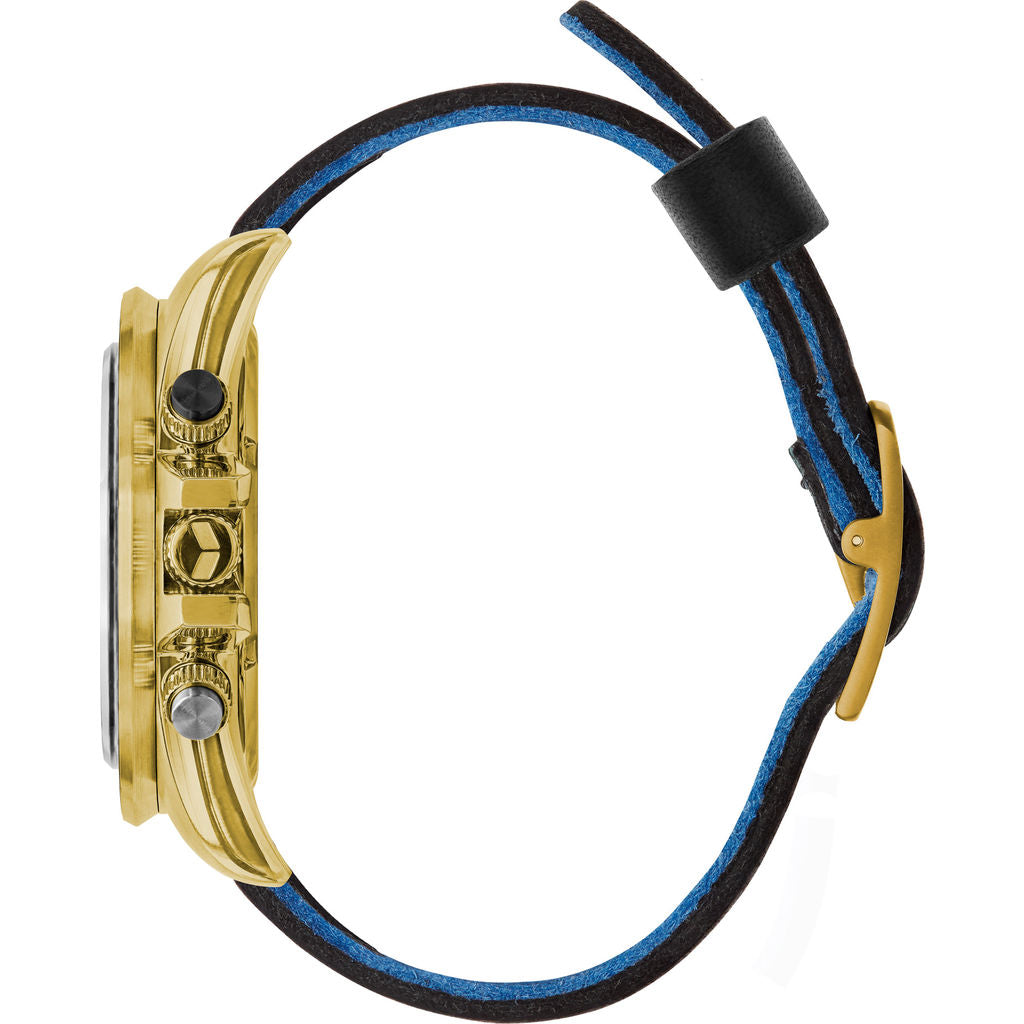 Vestal ZR-2 Makers Watch | Black-Blue/Gold/White
