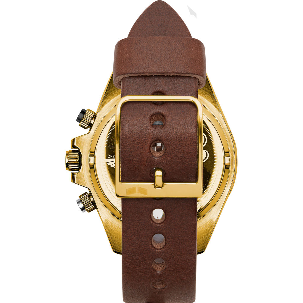 Vestal ZR-2 Makers Watch | Chocolate/Gold/White