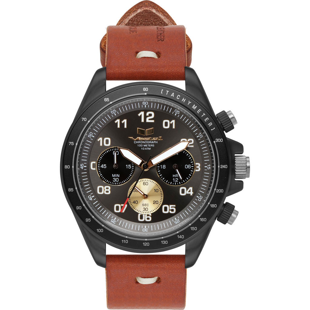 Vestal ZR-2 Makers Watch | Persimmon-Grey/Gun/Gun