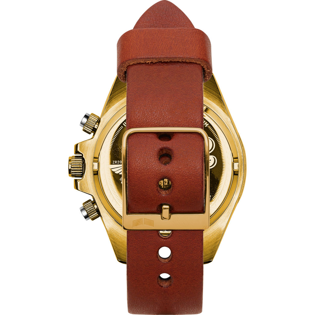 Vestal ZR-2 Makers Watch | Persimmon-Grey/Gold/Teal