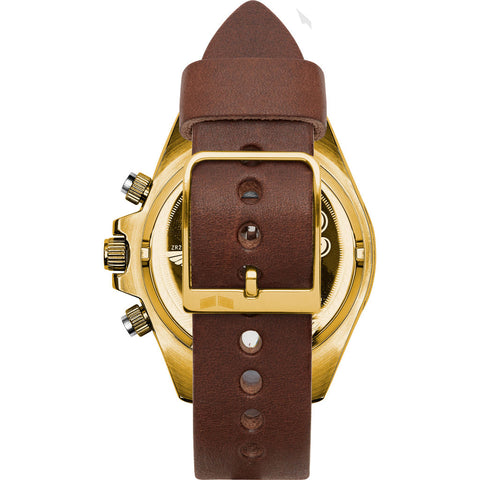 Vestal ZR-2 Makers Watch | Chocolate/Gold/Burgundy