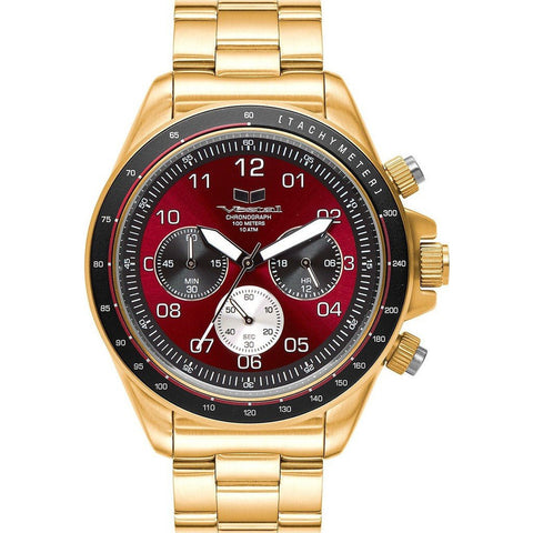 Vestal Zr-2 Watch | Gold/Burgundy/Brushed ZR2021