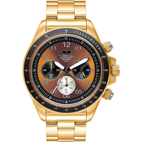 Vestal Zr-2 Watch | Gold/Iorange/Brushed ZR2022