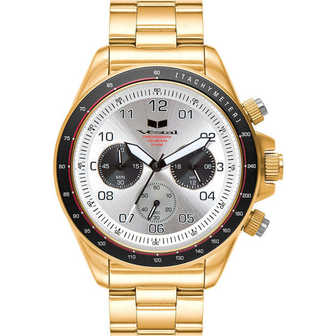 Vestal Zr-2 Watch | Gold/White/Brushed ZR2024