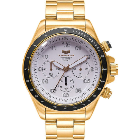 Vestal Zr-2 Watch | Gold/White ZR2028