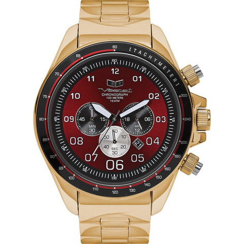 Vestal Zr-3 Watch | Gold/Burgundy/Brushed ZR3028