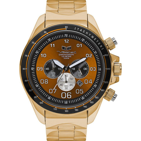 Vestal Zr-3 Watch | Gold/Orange/Polished ZR3029