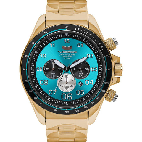 Vestal Zr-3 Watch | Gold/Teal/Polished ZR3030
