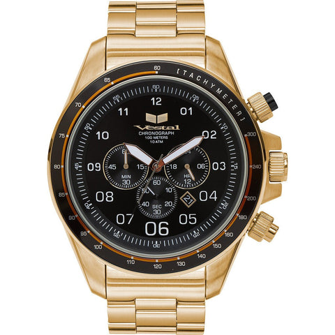 Vestal Zr-3 Watch | Gold/Black ZR3033
