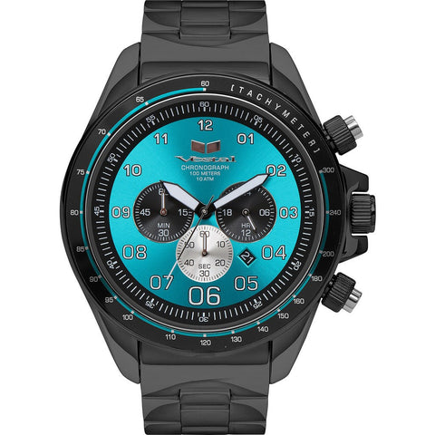 Vestal Zr-3 Watch | Black/Teal ZR3034