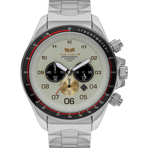 Vestal Zr-3 Watch | Silver/Marine/Polished ZR3037