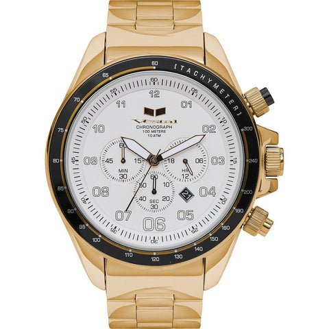 Vestal Zr-3 Watch | Gold/White/Brushed ZR3038