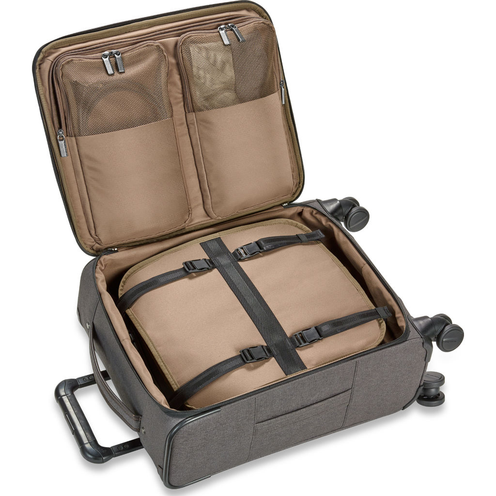 Briggs & Riley International Carry-On Spinner Suitcase  | Grey- ZU121SP
