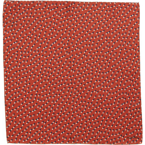 Zuzunaga Life Silk Pocket Square Scarf | Red