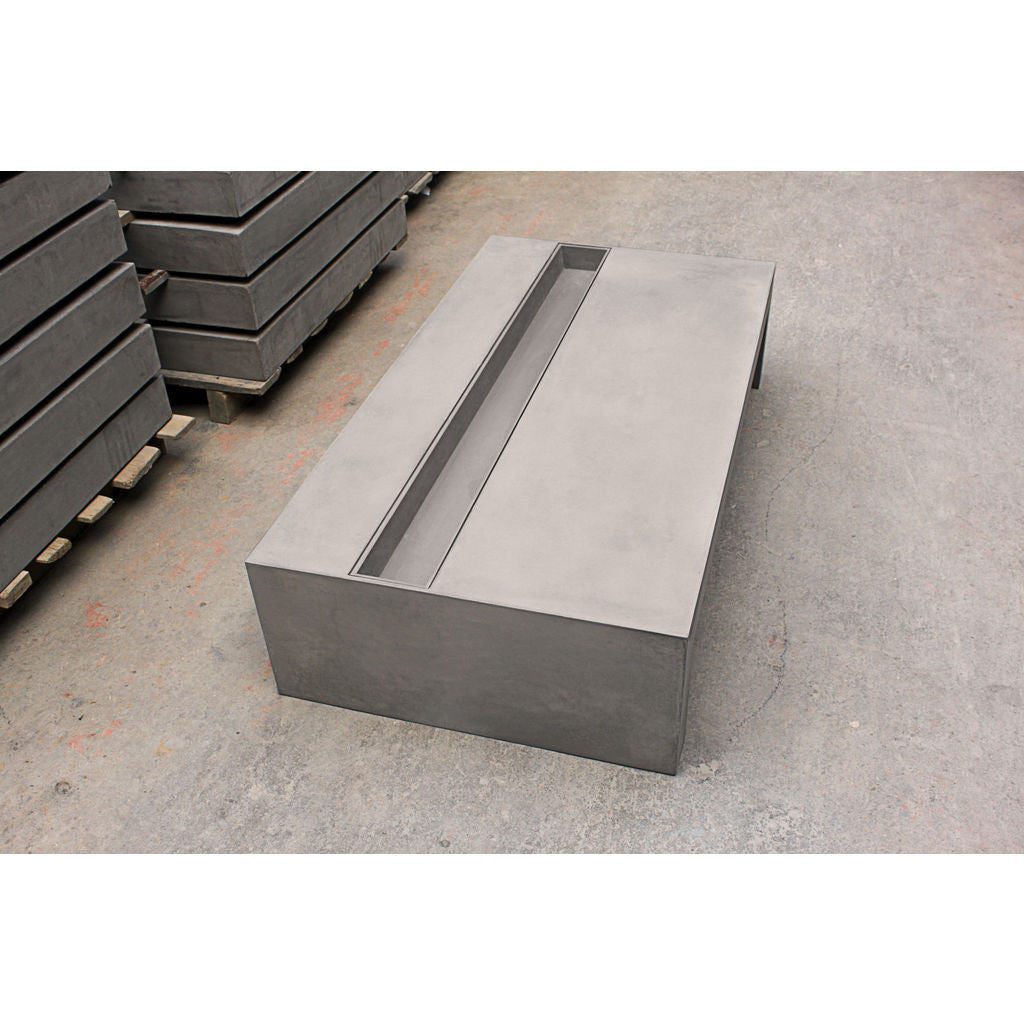 ... Lyon Beton Zen Rectangular Coffee Table | Concrete D 09023 ...
