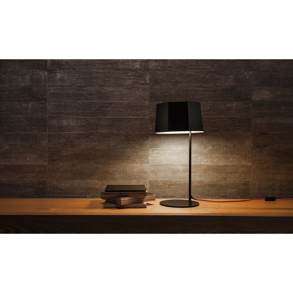 Seed Design Zhe Table Lamp | Black SQ-2322MD-BK