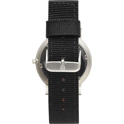 Shore Projects Anglesey Watch with Classic Strap | Silver / Green / Black S036S