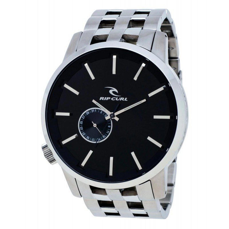 Rip Curl Detroit SSS Stainless Steel Watch | Black