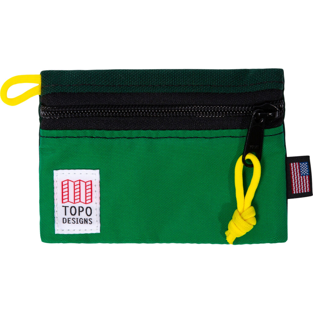 Topo Designs Accessory Bag For Travel & Hiking | Kelly/ Forest