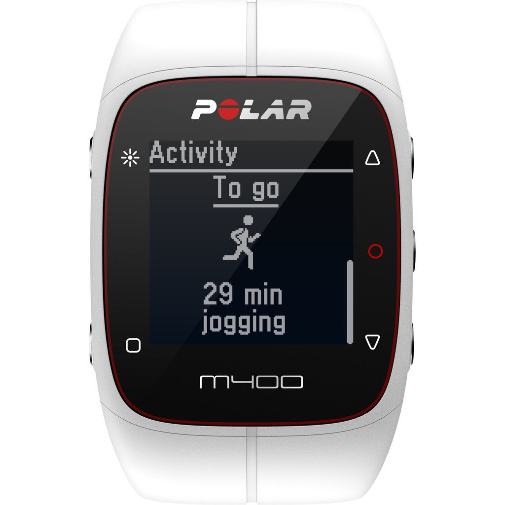 Polar M400 GPS Activity Tracker Watch | White
