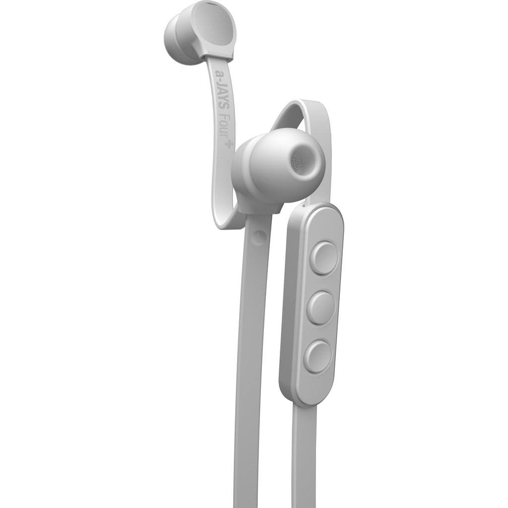 JAYS a-JAYS Four Headphones | White/Silver iOS T00152 / Android T00156