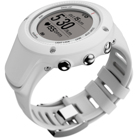 Suunto Ambit 2 R HR Watch | White SS020658000