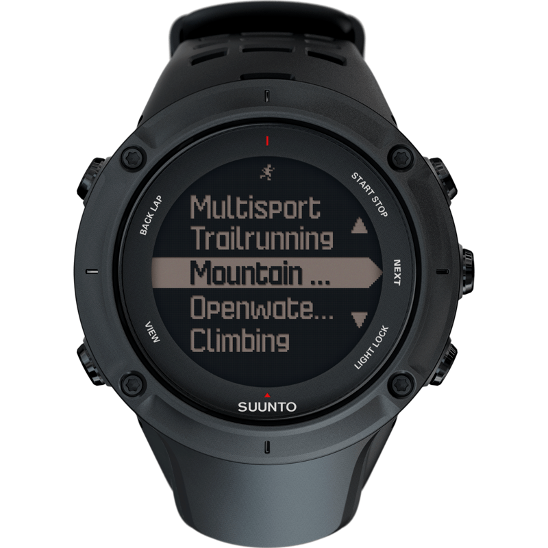 Suunto Ambit3 Peak GPS Watch | Black SS020677000