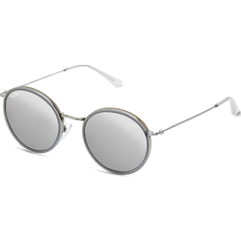 Kapten & Son Amsterdam All Grey Mirrored Sunglasses | Grey
