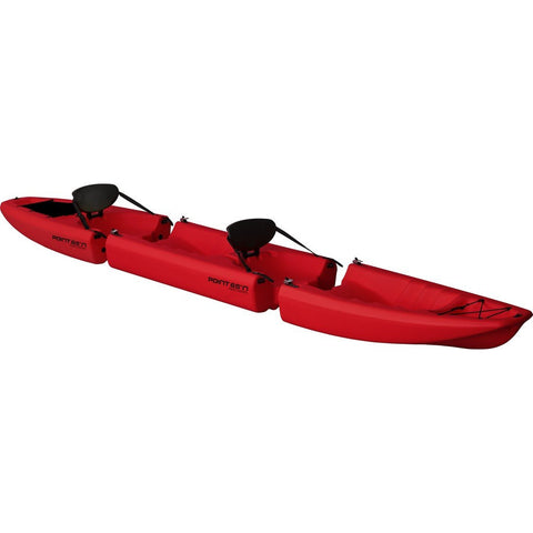 Point 65 Apollo Modular Tandem Kayak | Red