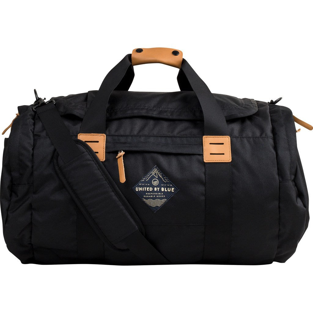 United By Blue 55L Arc Duffle Bag | Black ARCDUFF-BK