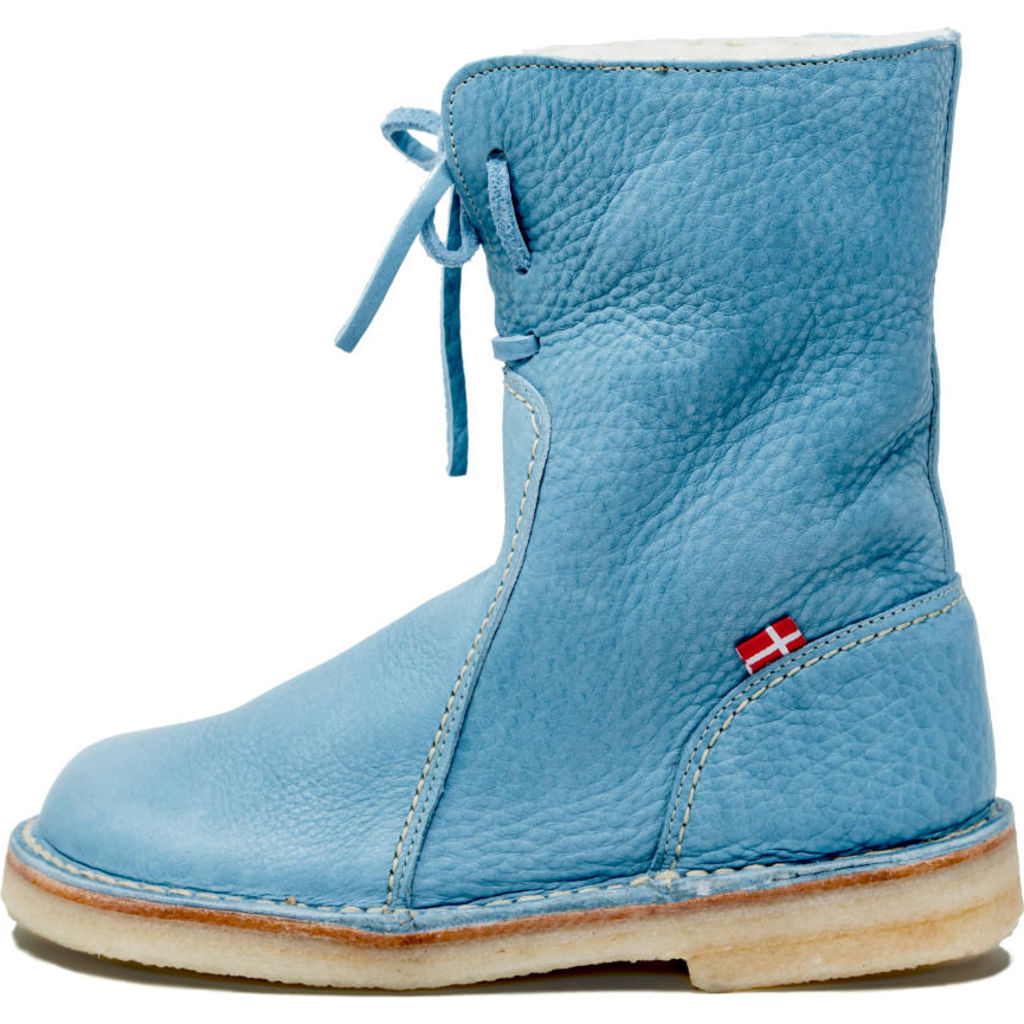 Duckfeet Arhus Wool/Leather Boots in Jean