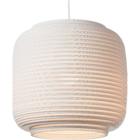 "Graypants Scraplight Ausi 14 Pendant Light | White 14.5"" Diameter GP-1113-UL"