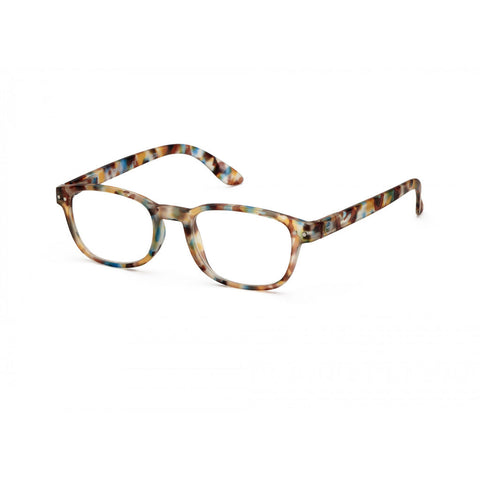 Izipizi Reading Glasses B-Frame | Blue Tortoise