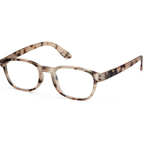 Izipizi Reading Glasses B-Frame | Light Tortoise