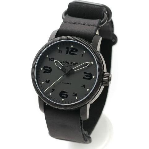 Lum-Tec B39 Phantom Watch | Leather Strap