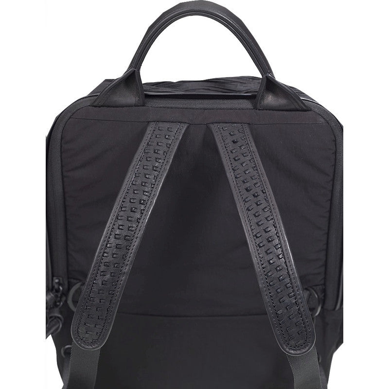 Cote&Ciel Moselle Poly Plisse Backpack | Sand Black 28408