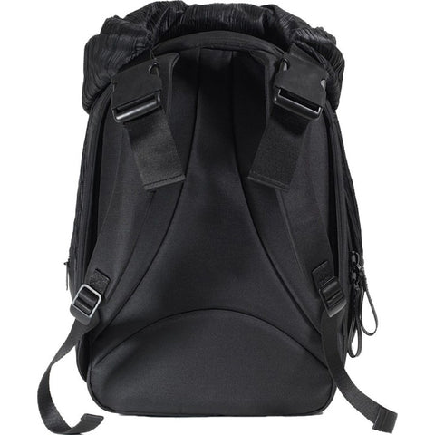 Cote et Ciel Nile Poly Plisse Backpack | Sand Black 28443