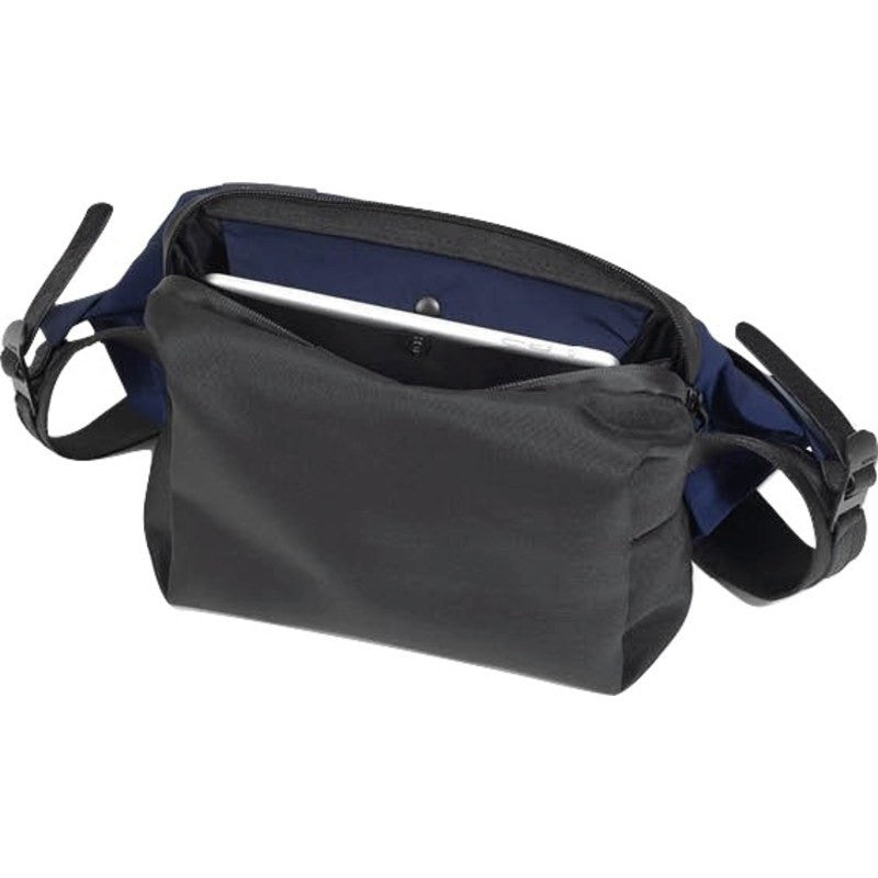 Cote&Ciel Isarau Memory Tech Sling Bag | Midnight Blue 28396