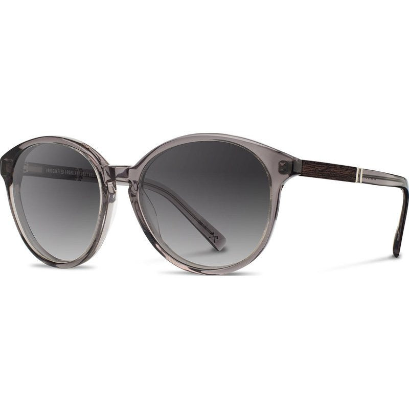 Shwood Bailey Acetate Sunglasses | Smoke & Ebony / Grey Fade
