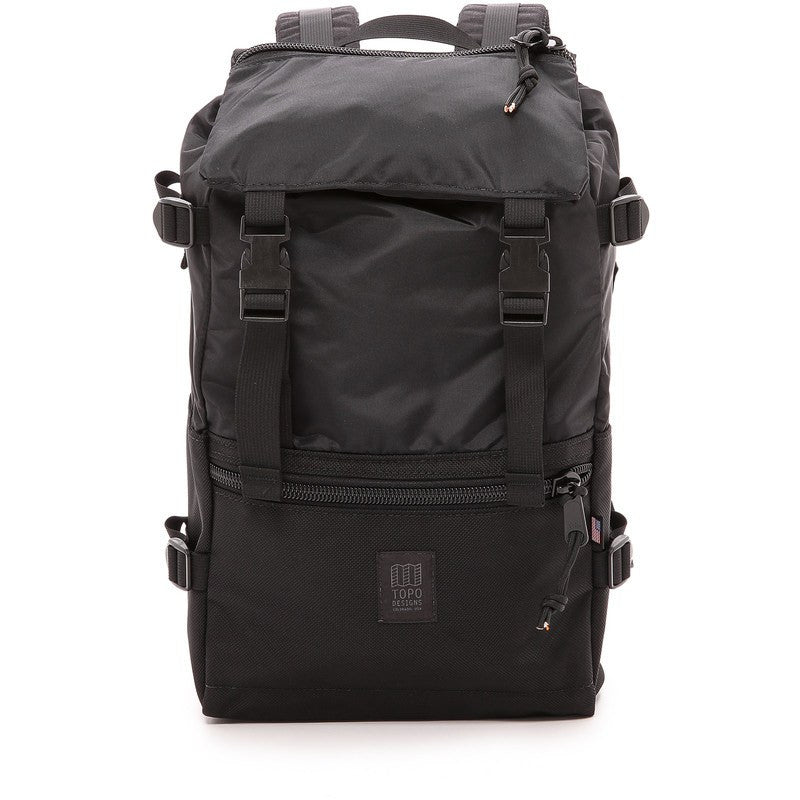Topo Designs Rover Pack Backpack | Ballistic Black