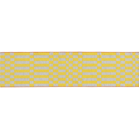 Gan Bandas Single Rug B | Yellow 02EB346B2URA7