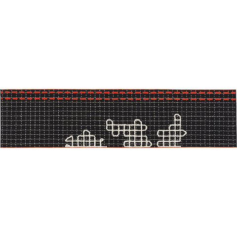 Gan Bandas Single Rug D | Black 02EB348B2URA9
