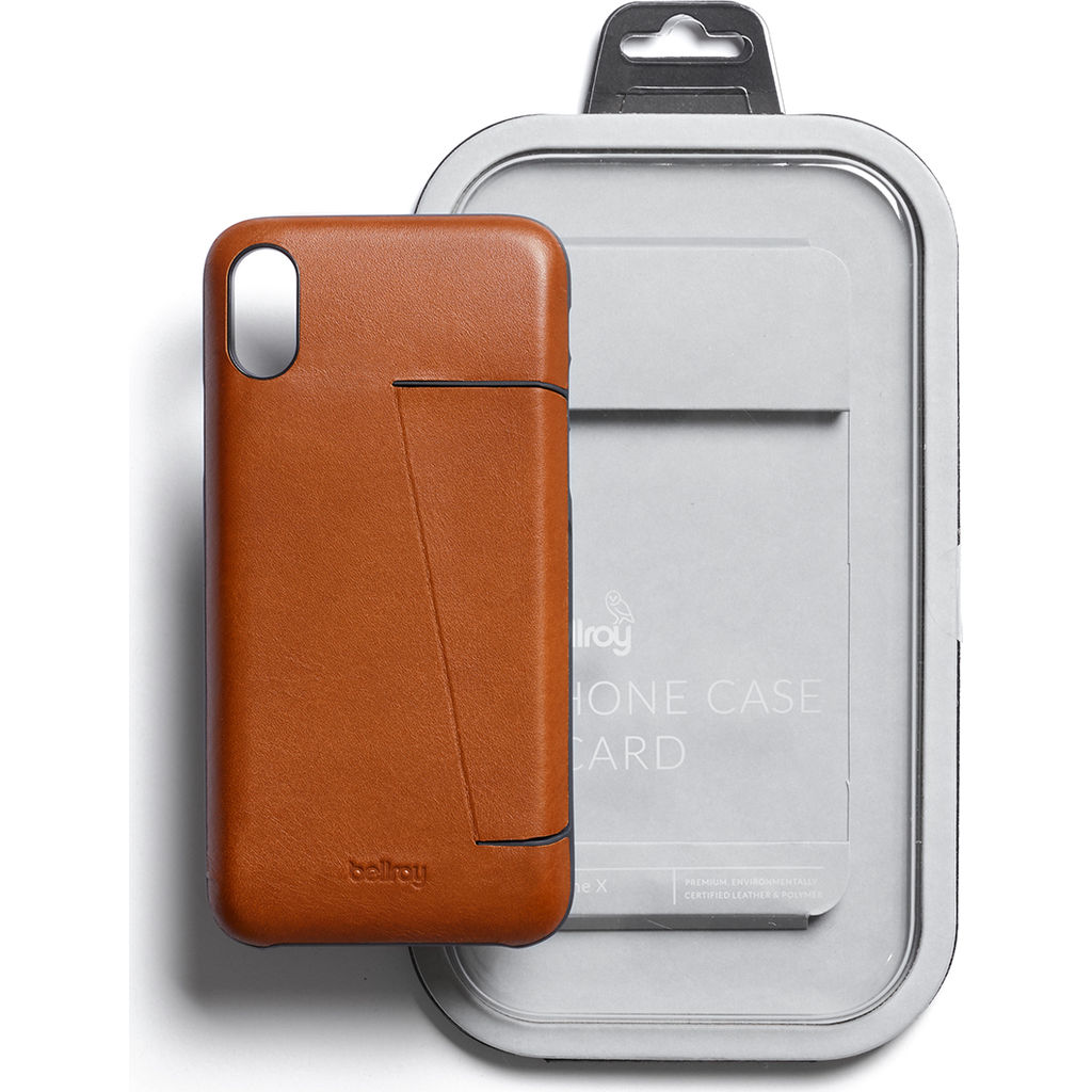 Bellroy iPhone X Case Wallet | Caramel PCXB-Caramel
