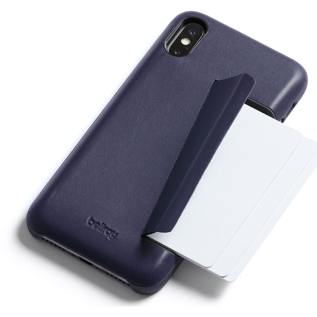 Bellroy iPhone X Case Wallet | Navy PCXB-Navy