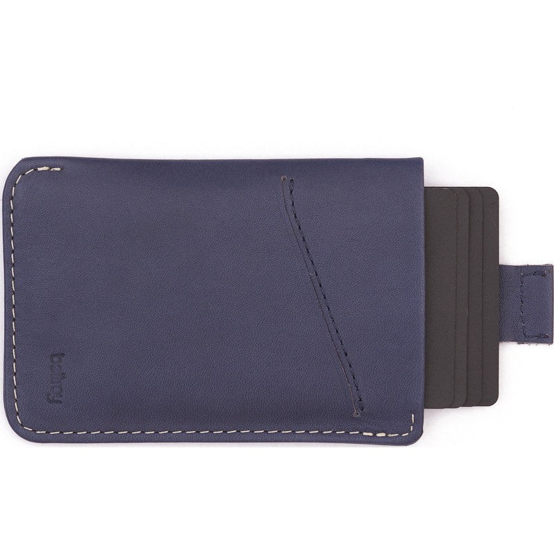 Bellroy Leather Card Sleeve Wallet | Blue Steel